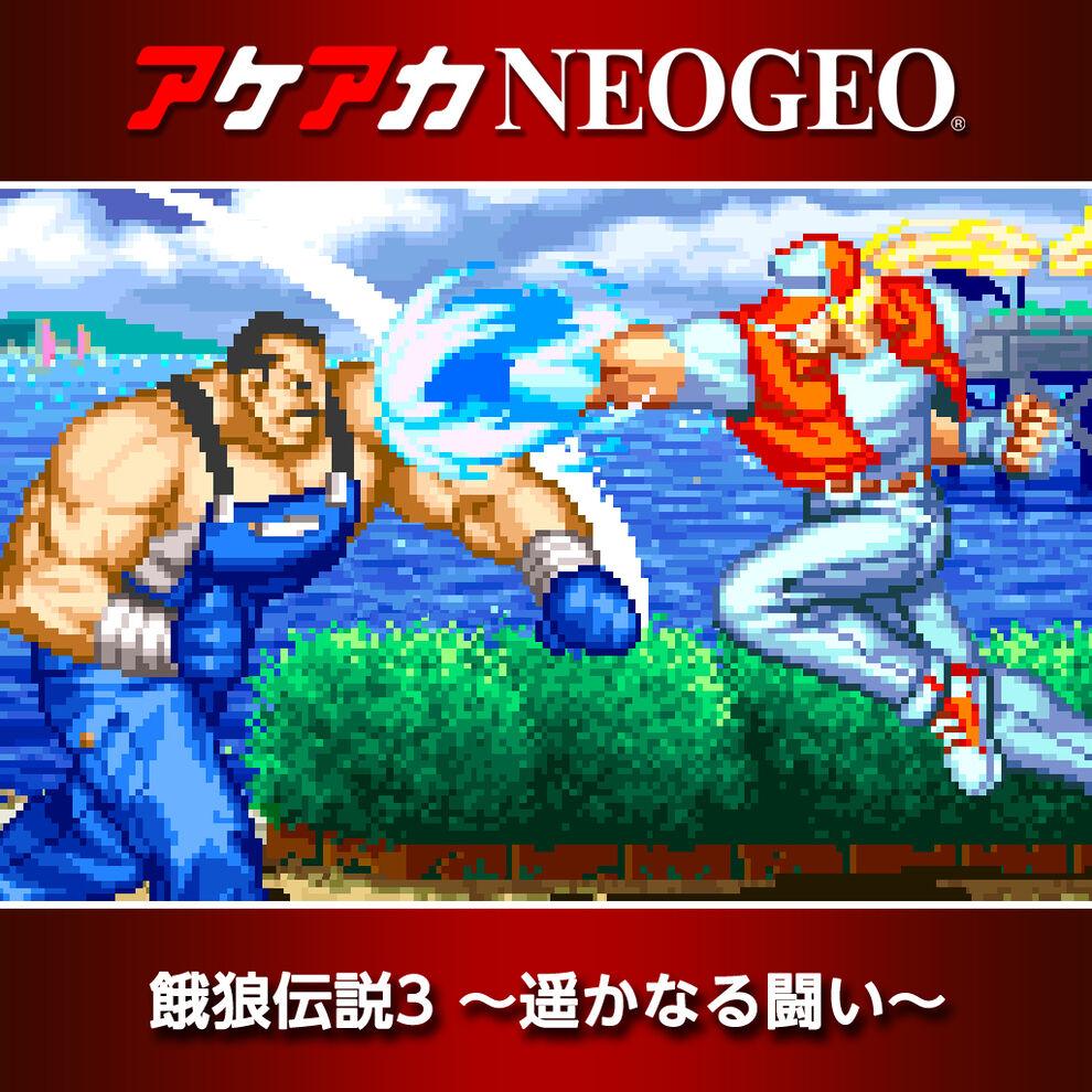 アケアカNEOGEO 餓狼伝説3 〜遥かなる闘い〜
