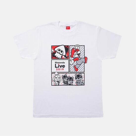 Nintendo Live 2019 Tシャツ キャラクター集合