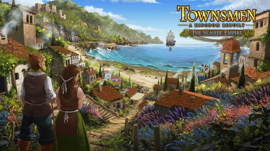 タウンズメン(Townsmen)追加コンテンツ「海辺の帝国」