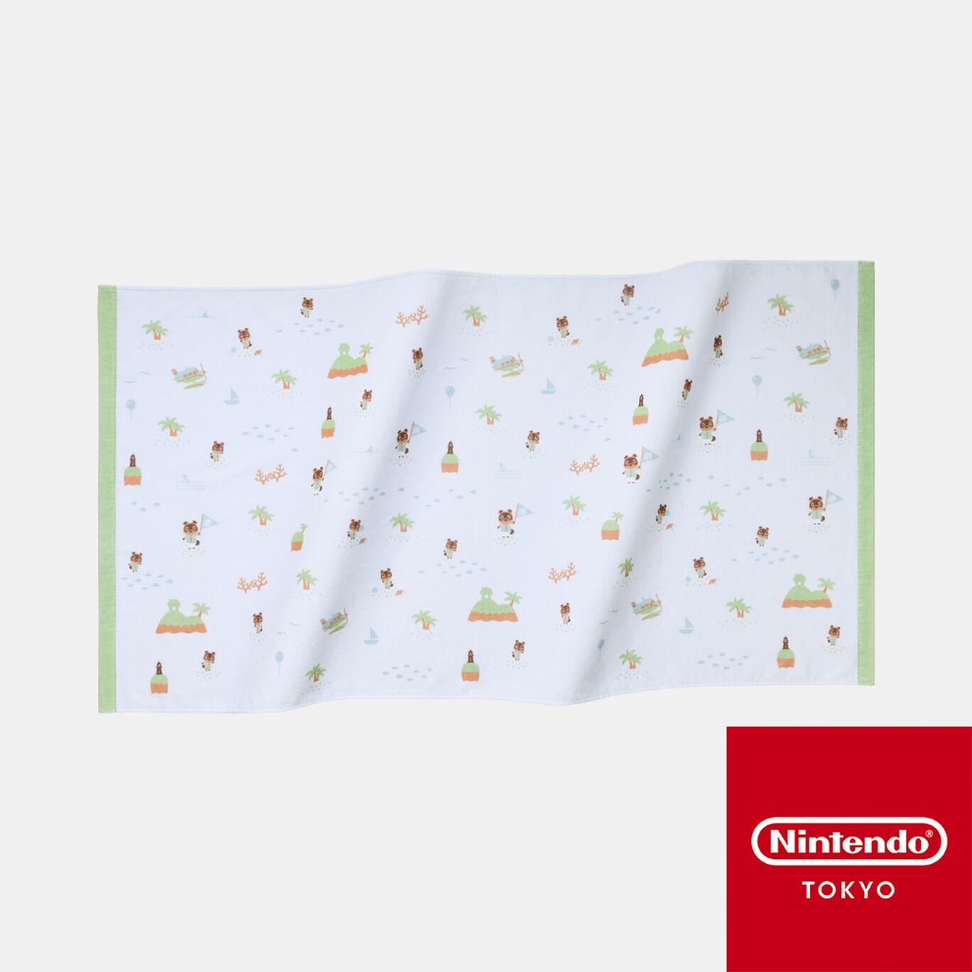 ビーチタオル あつまれ どうぶつの森【Nintendo TOKYO取り扱い商品】