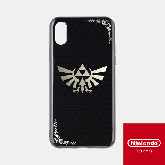 スマホカバー ゼルダの伝説 iPhone Xs/X 対応【Nintendo TOKYO取り扱い商品】