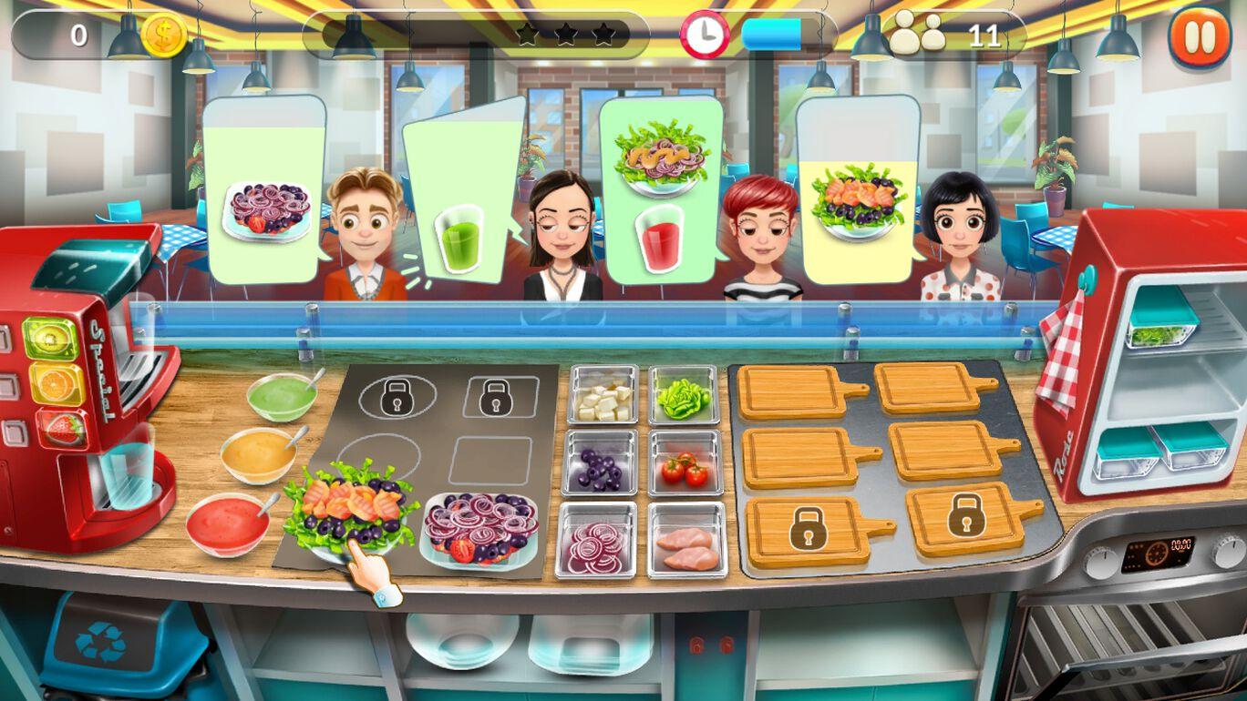 Salad Bar Tycoon サラダ・バー・タイクーン