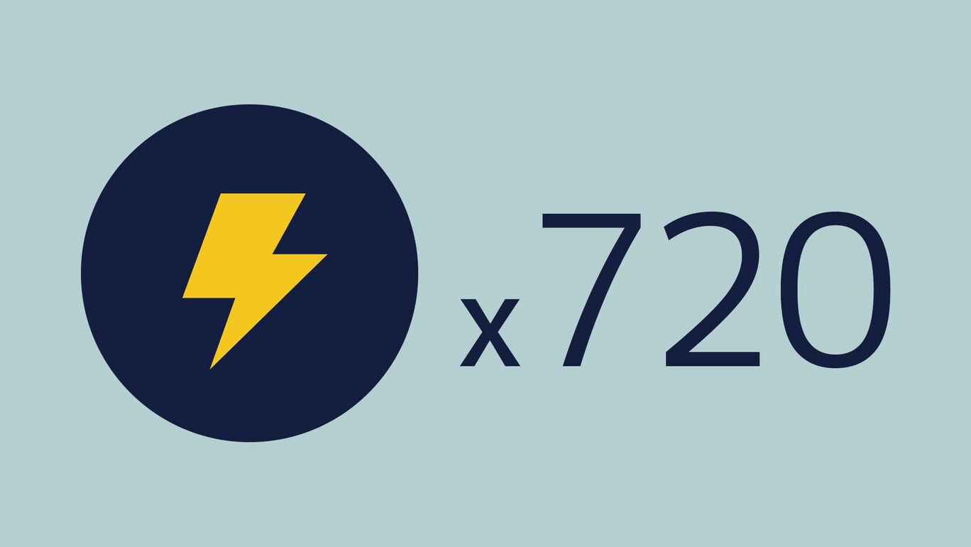 ライトニング+720