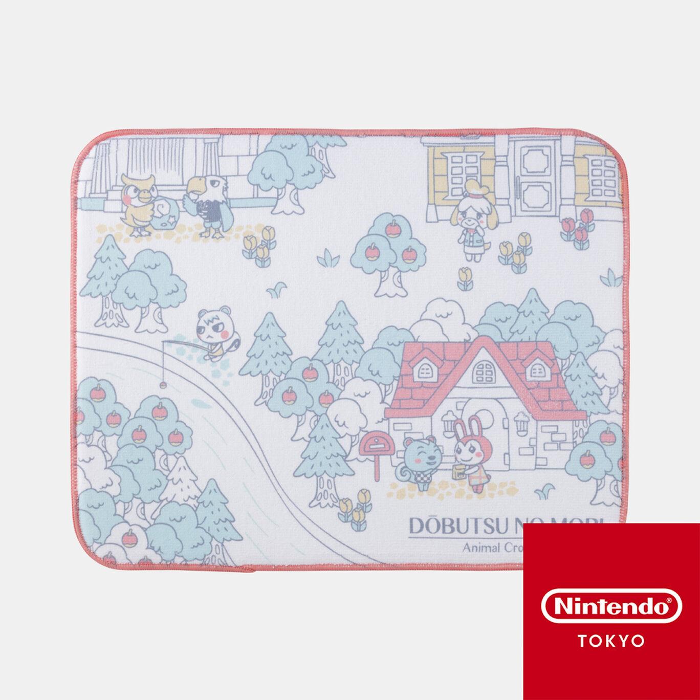 吸水マット どうぶつの森 A【Nintendo TOKYO取り扱い商品】