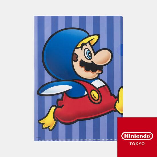 クリアファイル スーパーマリオ パワーアップ B【Nintendo TOKYO取り扱い商品】
