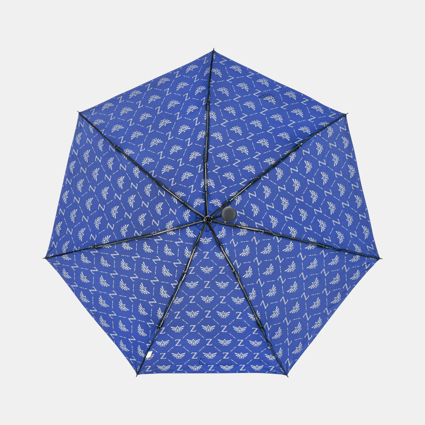 【新商品】折りたたみ傘 ブルー ゼルダの伝説【Nintendo TOKYO取り扱い商品】