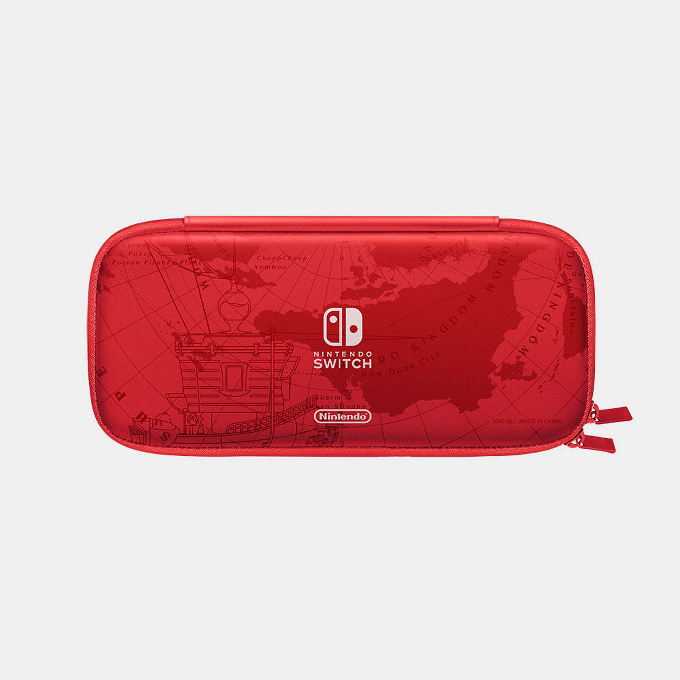 Nintendo Switchキャリングケース スーパーマリオ オデッセイエディション(画面保護シート付き)