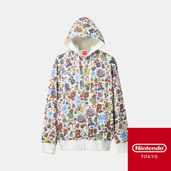 パーカー スーパーマリオ パワーアップ 【Nintendo TOKYO取り扱い商品】