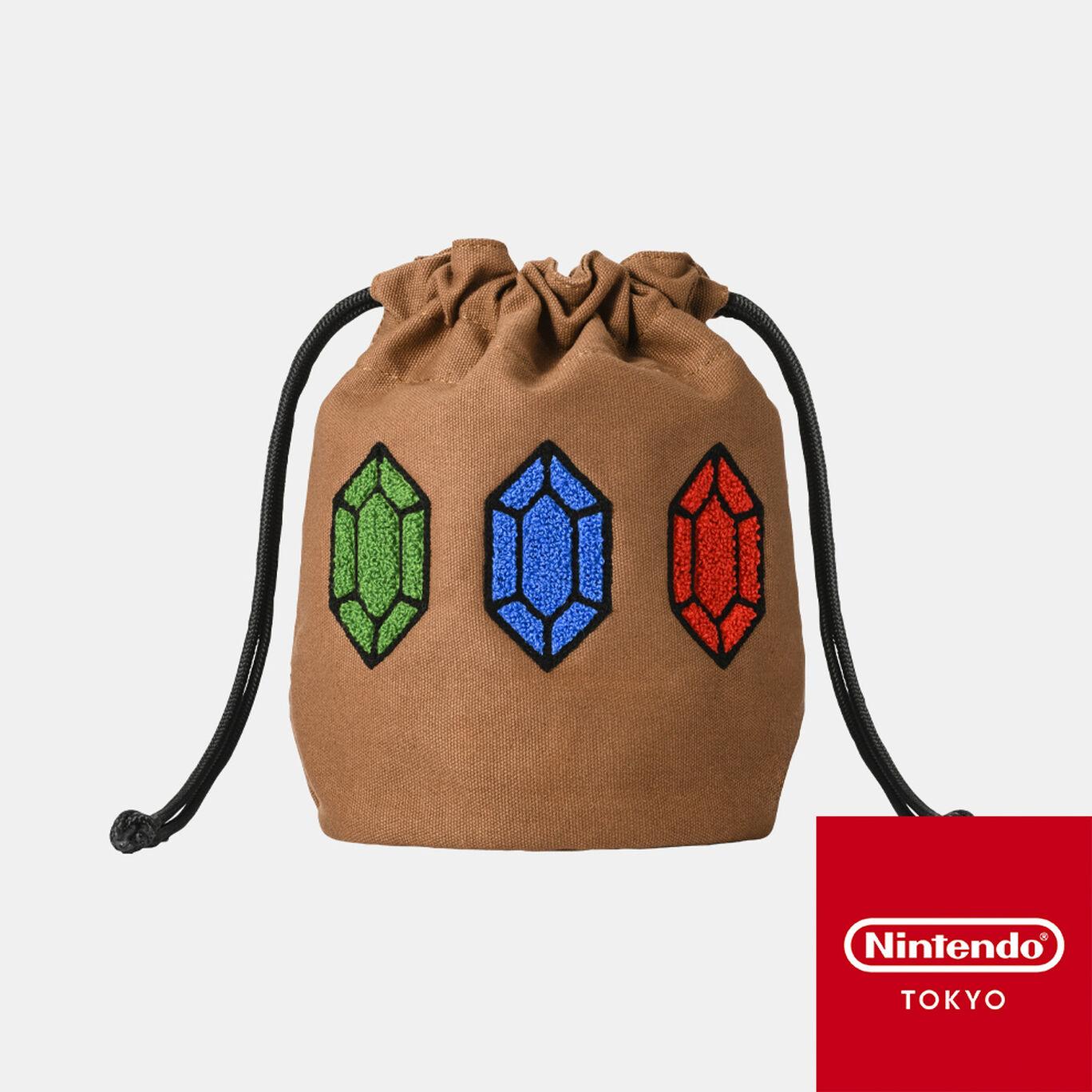 【新商品】巾着 ゼルダの伝説【Nintendo TOKYO取り扱い商品】