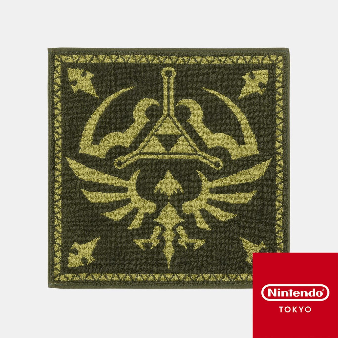 ハンドタオル ゼルダの伝説 B【Nintendo TOKYO取り扱い商品】