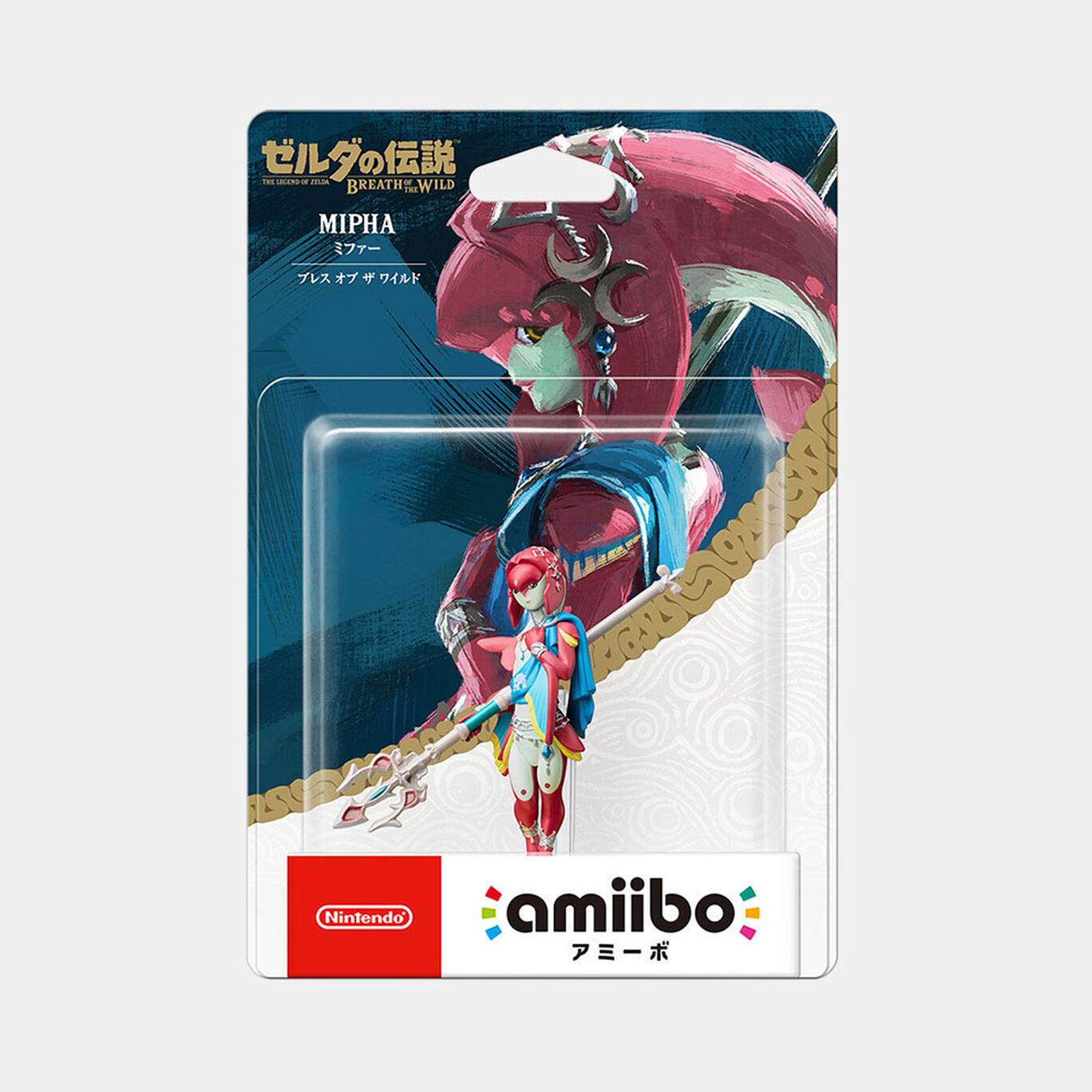 amiibo ミファー【ブレス オブ ザ ワイルド】(ゼルダの伝説シリーズ)