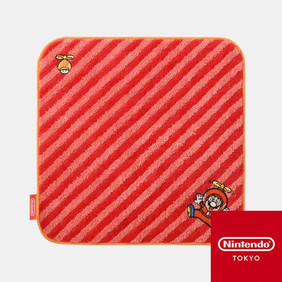 ミニタオル スーパーマリオ パワーアップ A【Nintendo TOKYO取り扱い商品】
