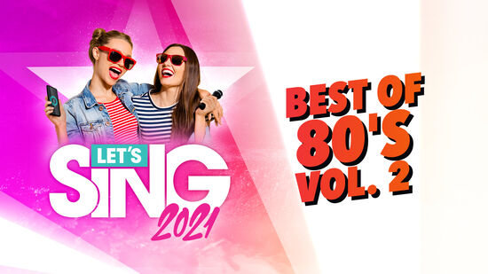 レッツシング2021 - Best of 80's Vol. 2 Song Pack