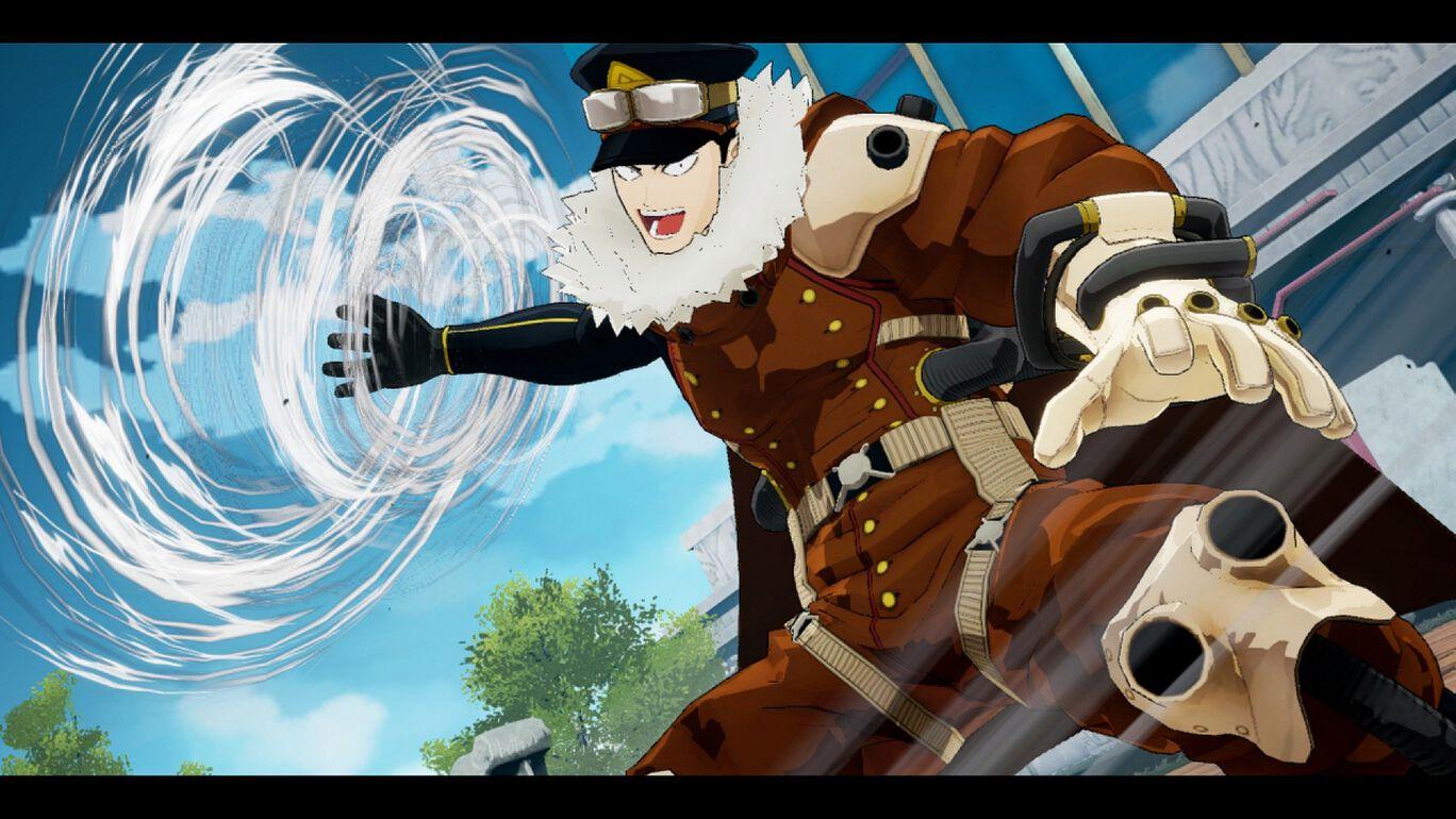僕のヒーローアカデミア One's Justice:プレイアブルキャラ 士傑高校生 夜嵐イナサ