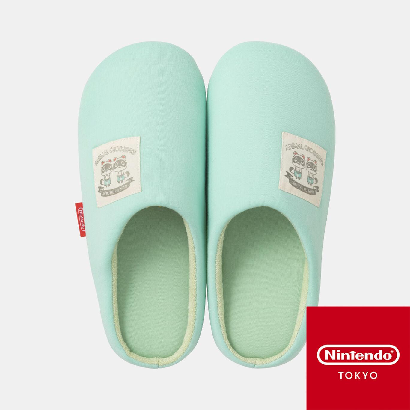 ルームシューズ どうぶつの森 B【Nintendo TOKYO取り扱い商品】
