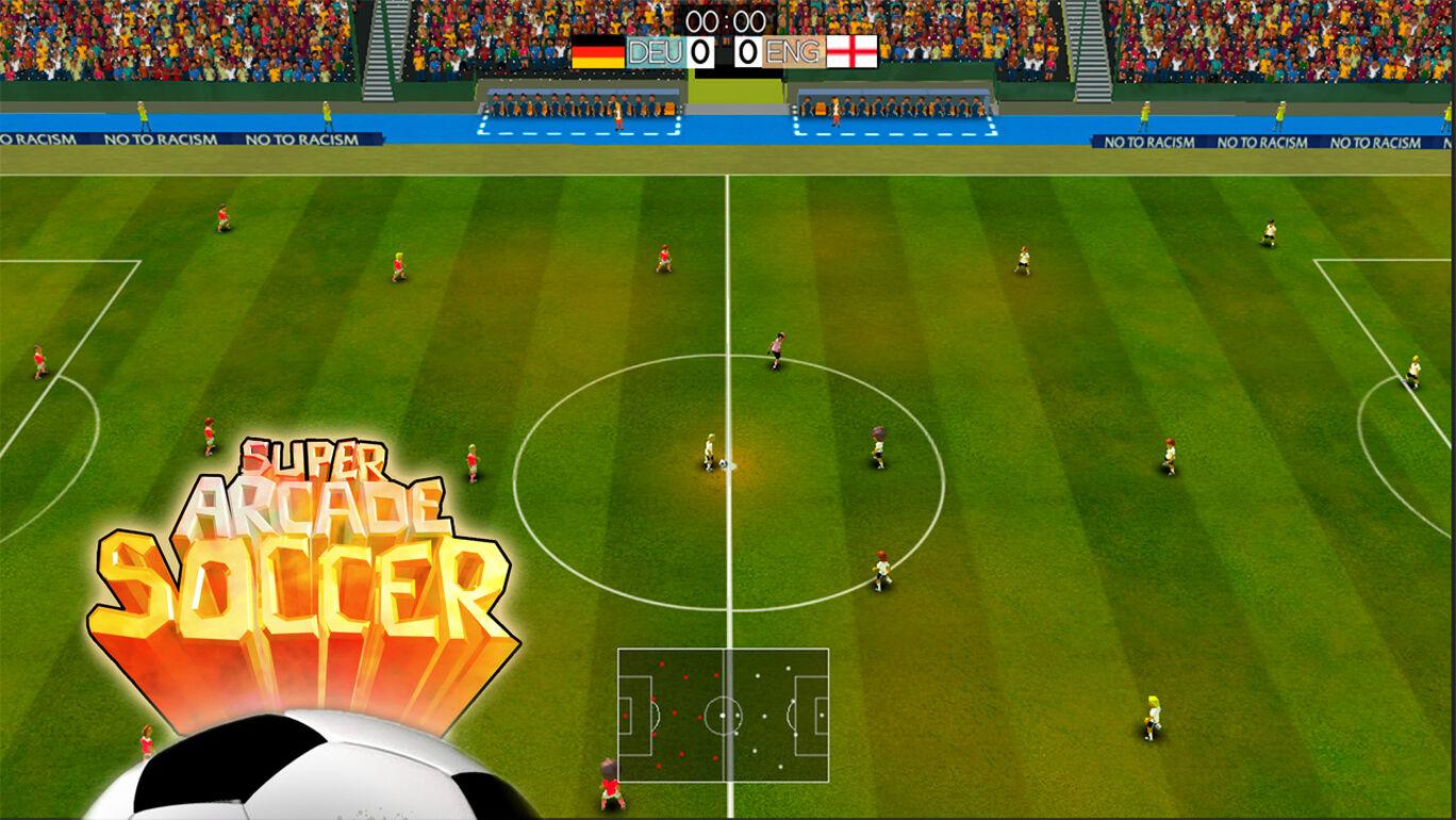 スーパー アーケード サッカー