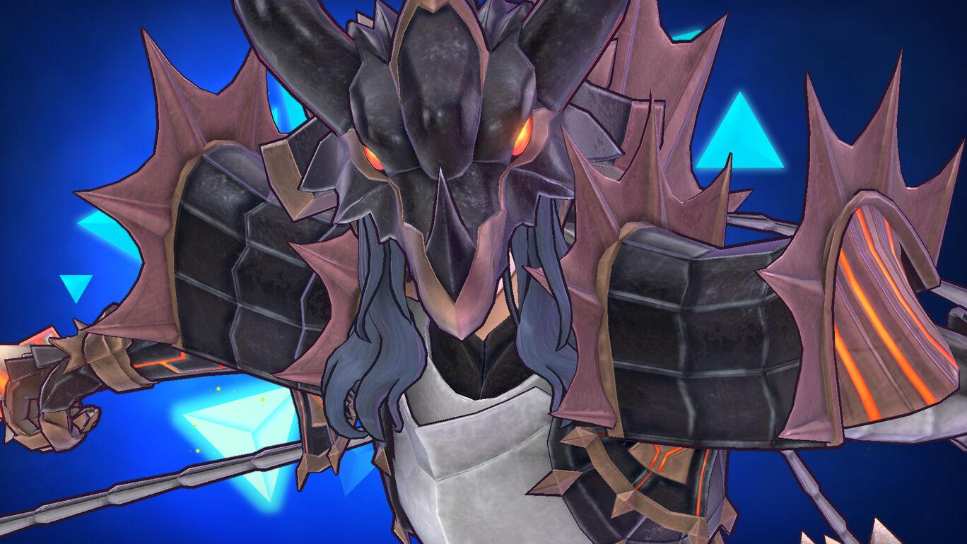 邪妖精の鎧