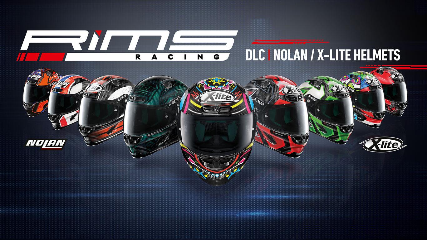 リムズ レーシング:Nolan X-LITE ヘルメット