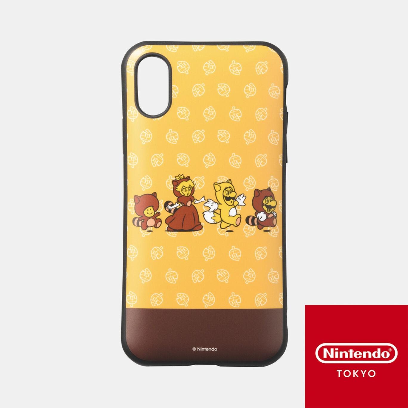 スマホケース スーパーマリオ パワーアップ C iPhone XS/X 対応【Nintendo TOKYO取り扱い商品】