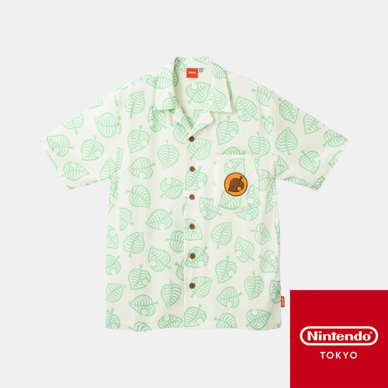 たぬきちのアロハシャツ あつまれ どうぶつの森【Nintendo TOKYO取り扱い商品】