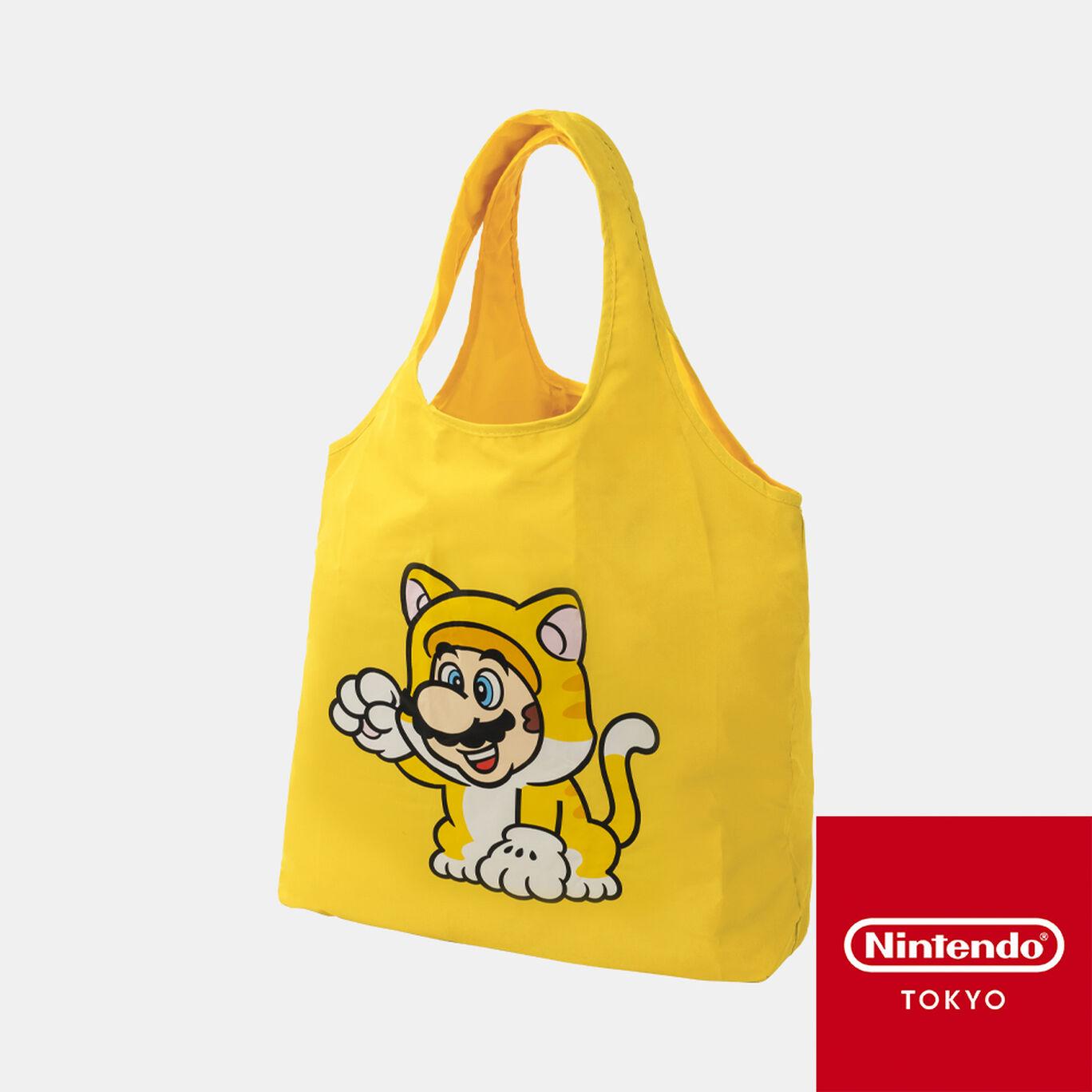 折りたたみバッグ スーパーマリオ パワーアップ B【Nintendo TOKYO取り扱い商品】