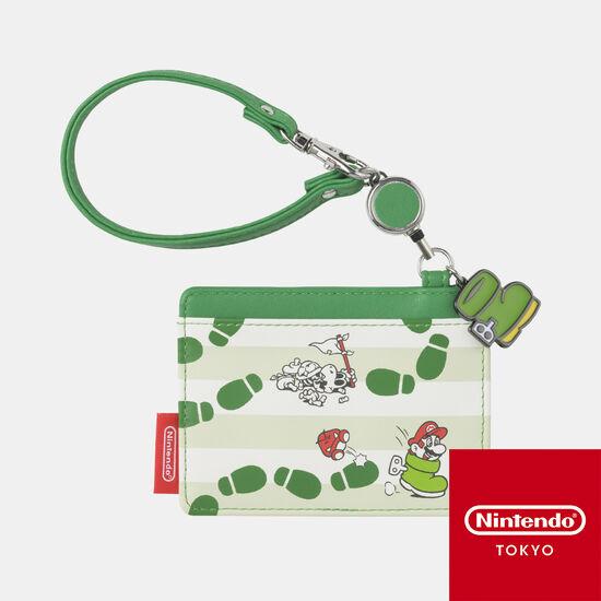 リールパスケース スーパーマリオ パワーアップ A【Nintendo TOKYO取り扱い商品】