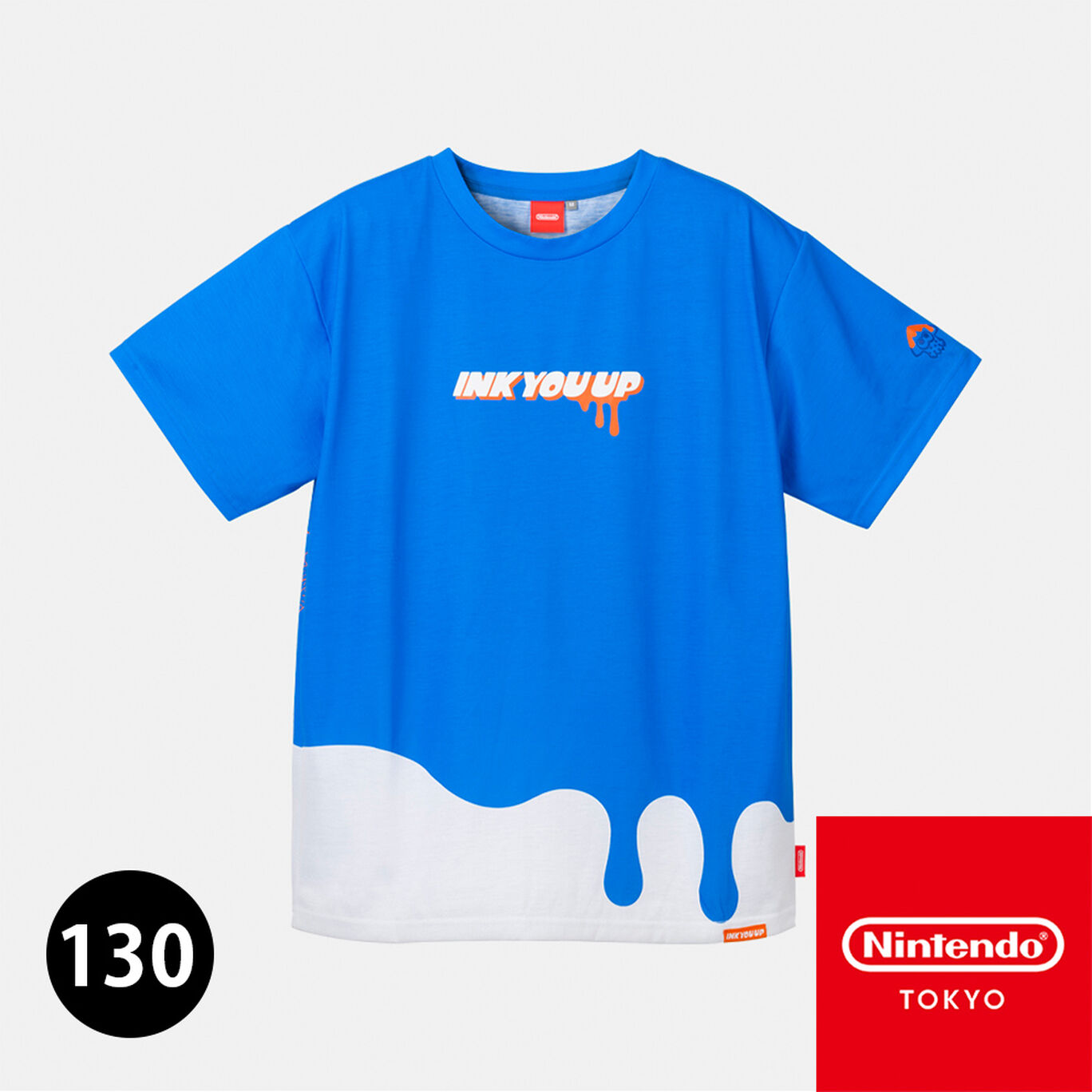 Tシャツ A 130 INK YOU UP【Nintendo TOKYO取り扱い商品】