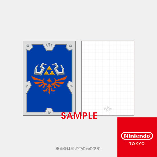 【新商品】メモ ハイリアの盾 ゼルダの伝説 スカイウォードソード HD【Nintendo TOKYO取り扱い商品】