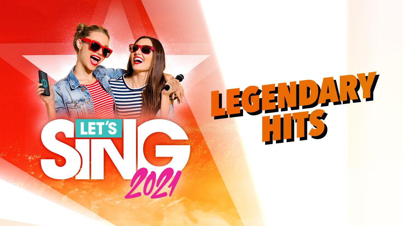 レッツシング2021 - Legendary Hits Song Pack