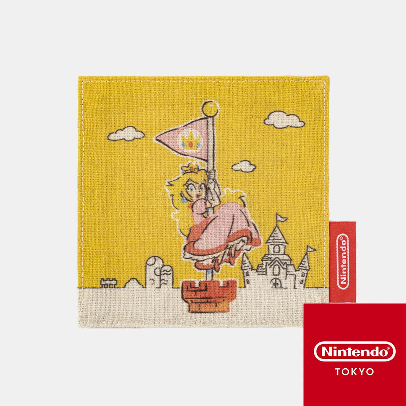 コースター スーパーマリオファミリーライフ ピーチ【Nintendo TOKYO取り扱い商品】
