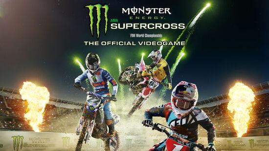 Monster Energy Supercross - The Official Videogame (モンスターエナジースーパークロス オフィシャルビデオゲーム)