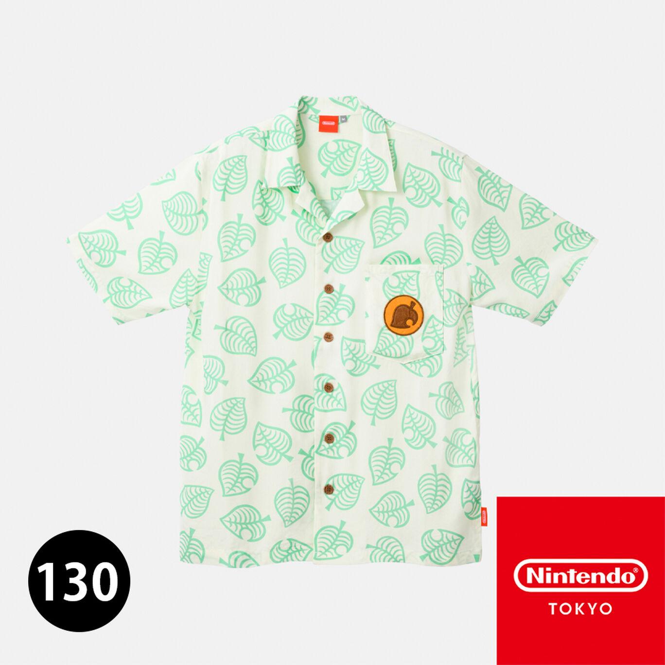 たぬきちのアロハシャツ 130 あつまれ どうぶつの森【Nintendo TOKYO取り扱い商品】