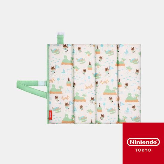 折りたたみクッション あつまれ どうぶつの森【Nintendo TOKYO取り扱い商品】