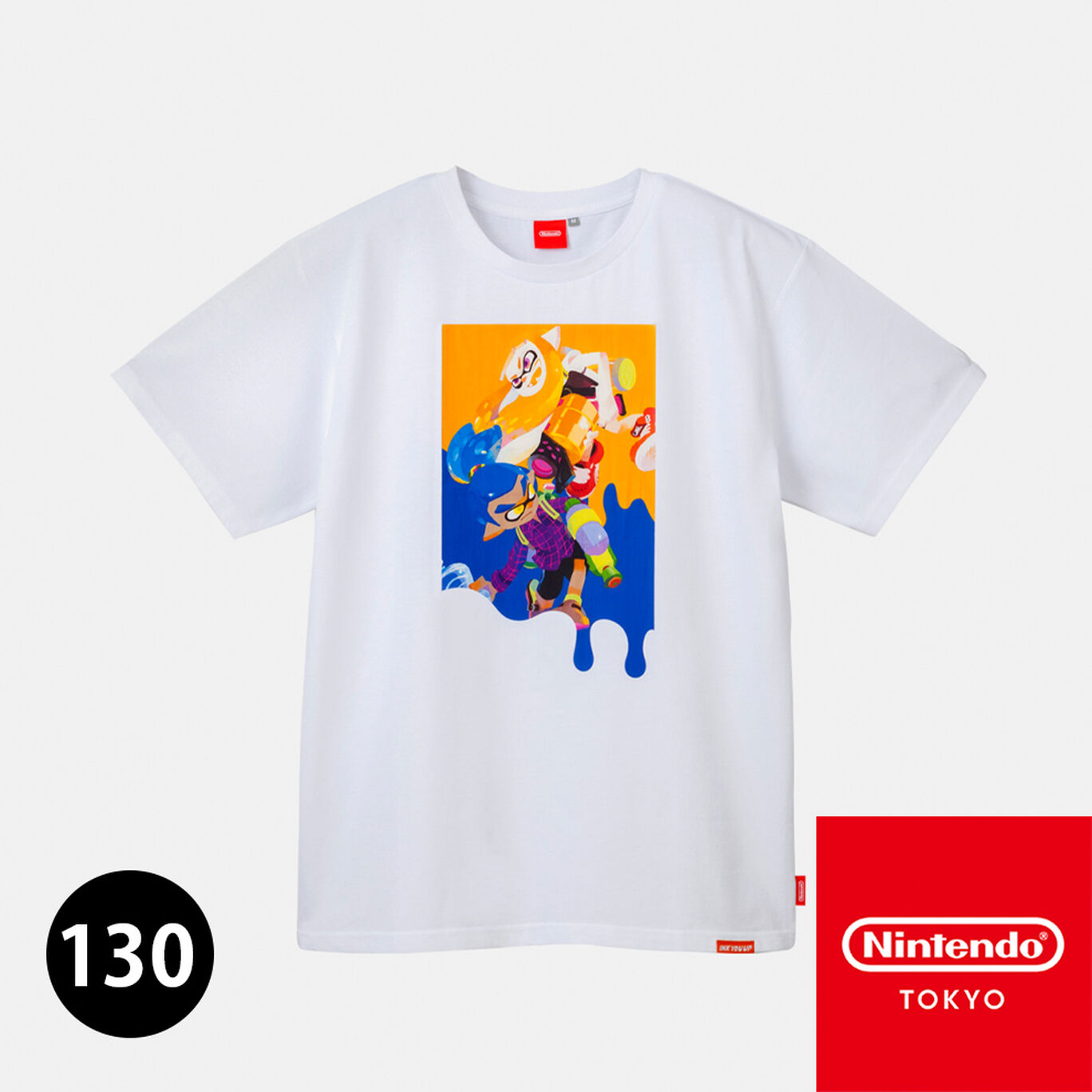 Tシャツ B 130 INK YOU UP【Nintendo TOKYO取り扱い商品】