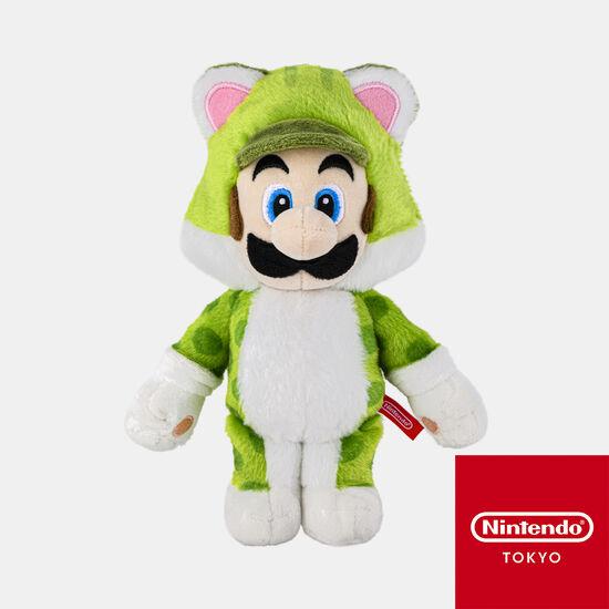 【新商品】マスコット スーパーマリオ ネコルイージ【Nintendo TOKYO取り扱い商品】