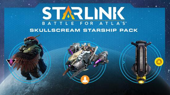 スターリンク バトル・フォー・アトラス - スターシップパック:スカルスクリーム