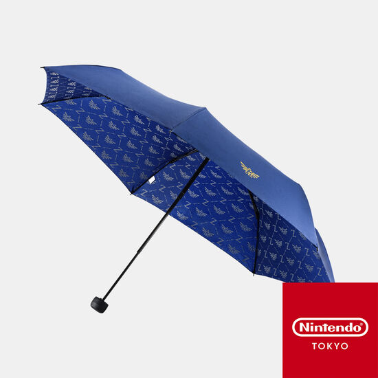 折りたたみ傘 ブルー ゼルダの伝説【Nintendo TOKYO取り扱い商品】