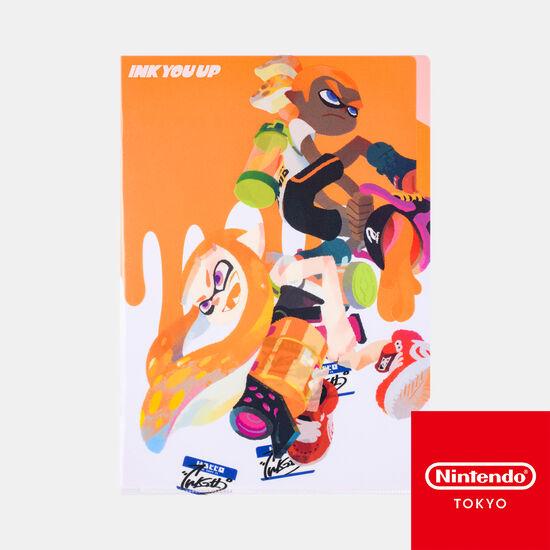 クリアファイル A INK YOU UP【Nintendo TOKYO取り扱い商品】