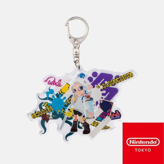 ビッグアクリルキーホルダー CROSSING SPLATOON C【Nintendo TOKYO取り扱い商品】