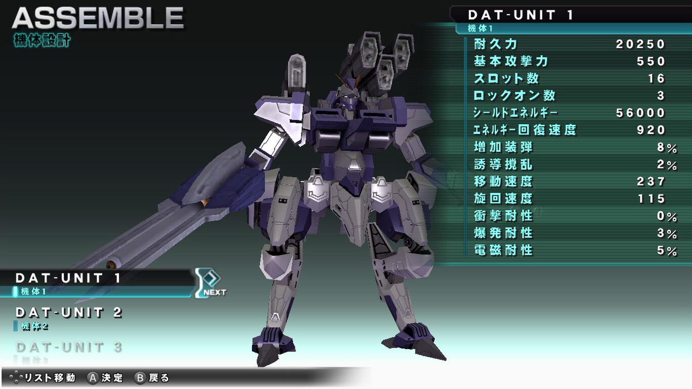 ASSAULT GUNNERS HD EDITION コンプリートセット