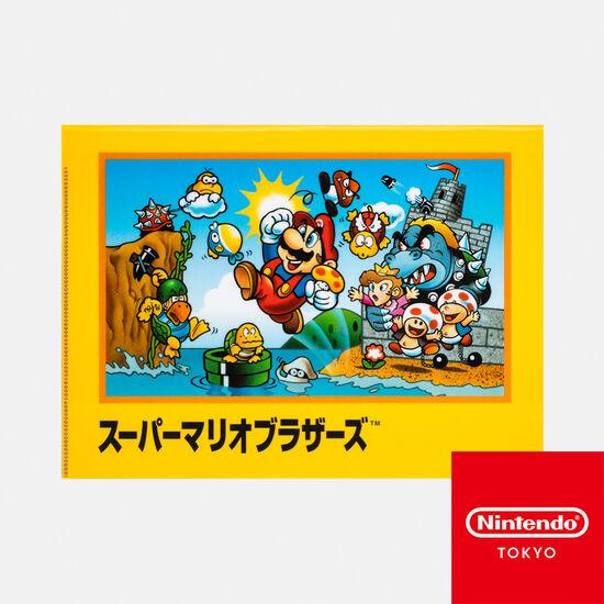 クリアファイル ダブルポケット スーパーマリオブラザーズ【Nintendo TOKYO取り扱い商品】