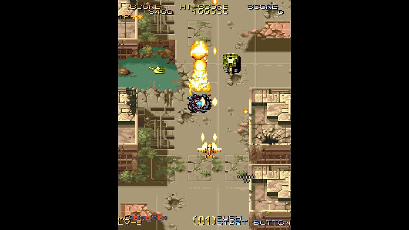 Capcom Arcade Stadium:バース - OPERATION THUNDER STORM -