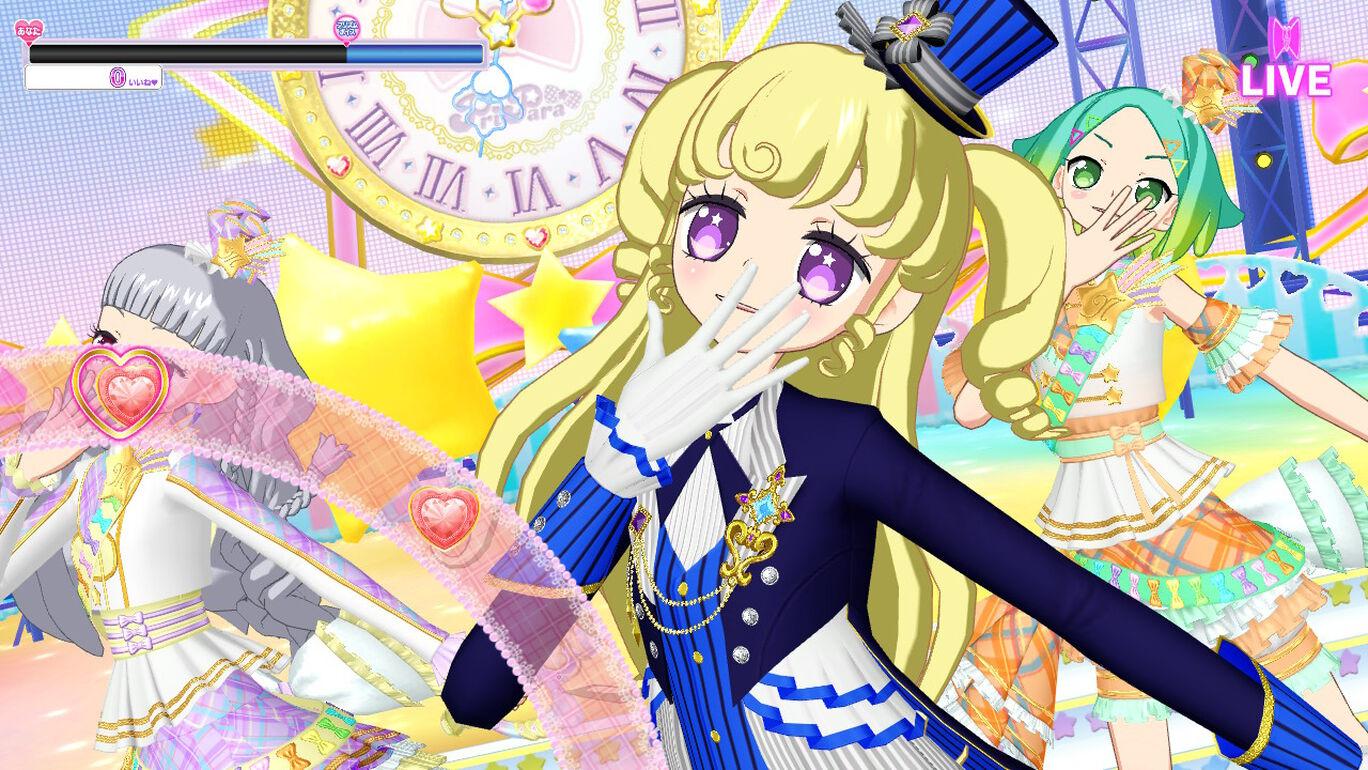 Nintendo Switch プリパラ オールアイドルパーフェクトステージ! 追加曲「ワクワク O'clock」(うた:ショウゴ・アサヒ・コヨイ)
