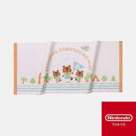 フェイスタオル あつまれ どうぶつの森【Nintendo TOKYO取り扱い商品】