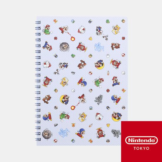 A5リングノート スーパーマリオ パワーアップ【Nintendo TOKYO取り扱い商品】