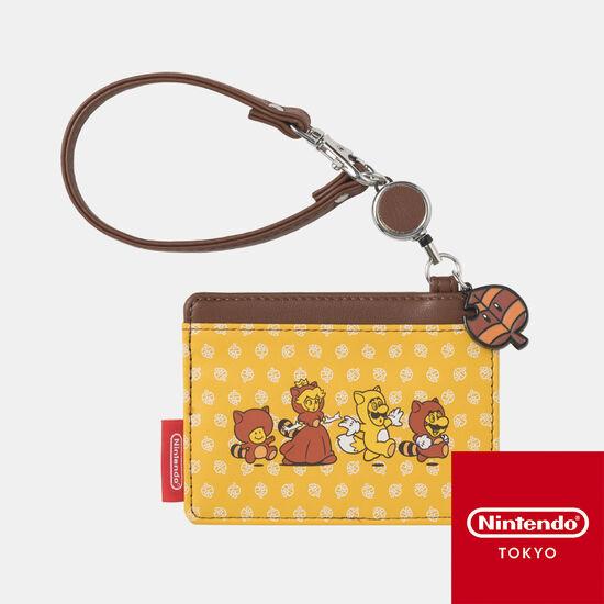 リールパスケース スーパーマリオ パワーアップ B【Nintendo TOKYO取り扱い商品】
