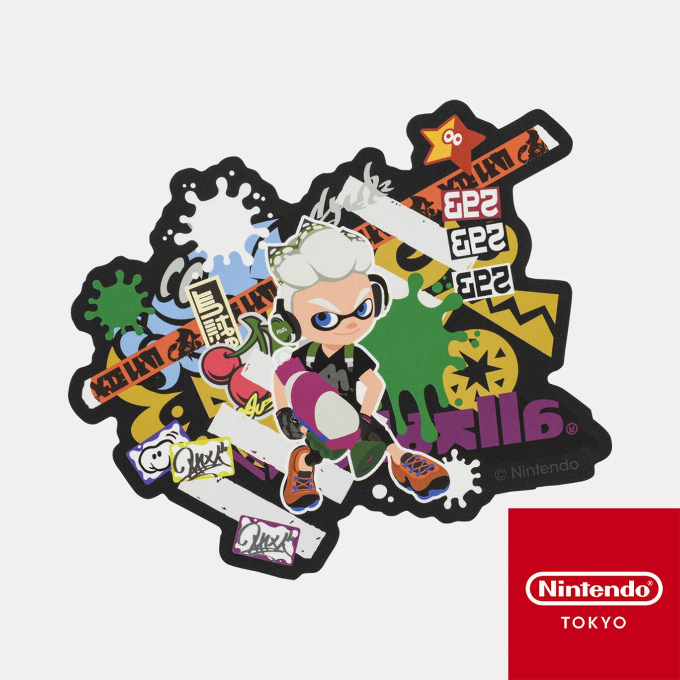 ステッカー CROSSING SPLATOON B【Nintendo TOKYO取り扱い商品】