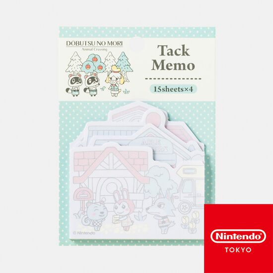 タックメモ どうぶつの森【Nintendo TOKYO取り扱い商品】