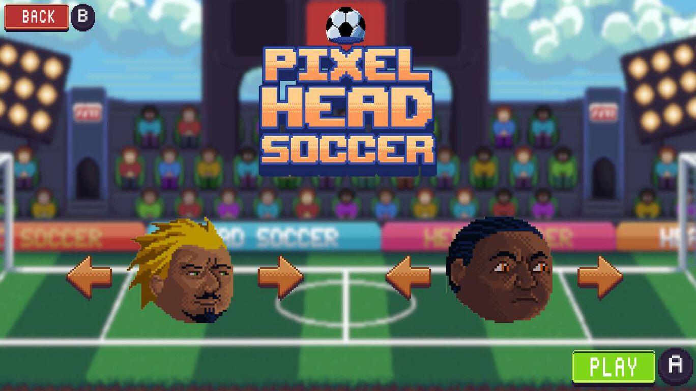 Pixel Head Soccer