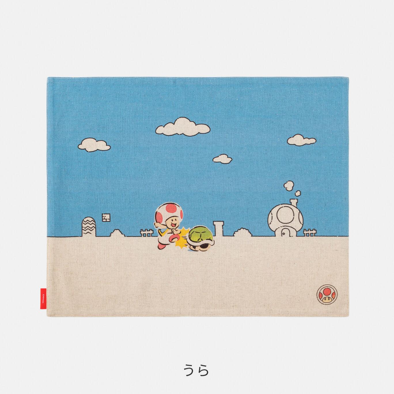 ランチョンマット スーパーマリオファミリーライフ キノピオ【Nintendo TOKYO取り扱い商品】